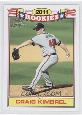 2011 Topps Lineage - Rookies #8 - Craig Kimbrel