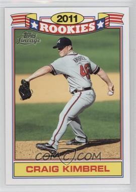 2011 Topps Lineage - Rookies #8 - Craig Kimbrel