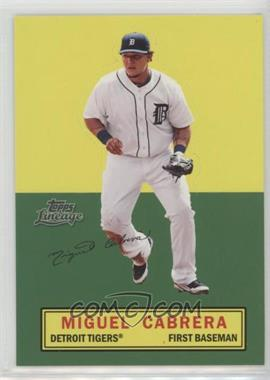 2011 Topps Lineage - Stand Ups #MICA - Miguel Cabrera