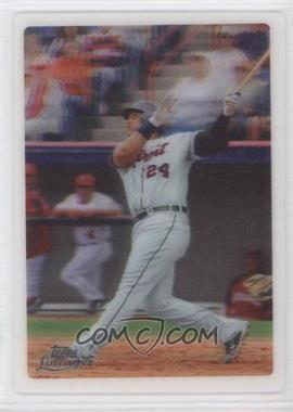 2011 Topps Lineage - Topps 3D - Mailing Address Back #MICA - Miguel Cabrera /99