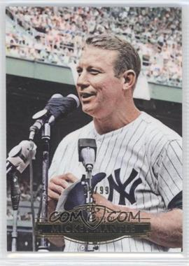 2011 Topps Marquee - [Base] - Gold #31 - Mickey Mantle /99