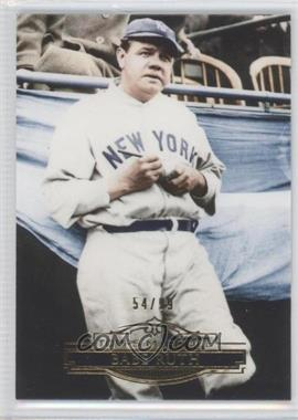 2011 Topps Marquee - [Base] - Gold #36 - Babe Ruth /99