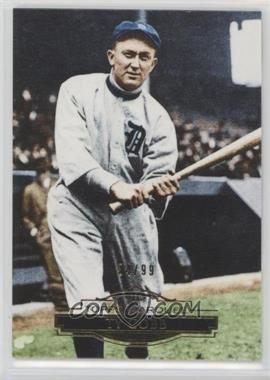 2011 Topps Marquee - [Base] - Gold #48 - Ty Cobb /99