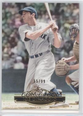 2011 Topps Marquee - [Base] - Gold #90 - Joe DiMaggio /99