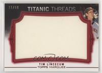 Tim Lincecum #/50