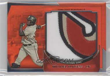 2011 Topps Pro Debut - Minor League Materials - Jumbo Game-Worn Jerseys #MM-MB - Michael Burgess /5