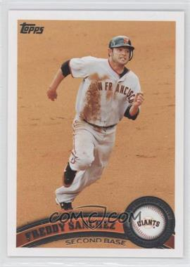 2011 Topps San Francisco Giants - [Base] #SFG10 - Freddy Sanchez