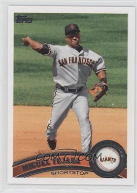 2011 Topps San Francisco Giants - [Base] #SFG7 - Miguel Tejada