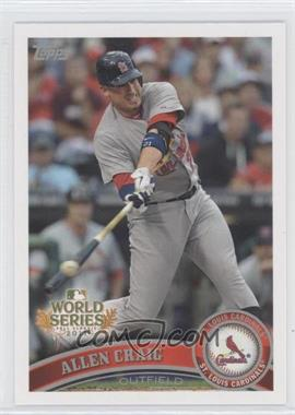 2011 Topps St. Louis Cardinals World Series Champions - Hanger Pack [Base] #WS10 - Allen Craig