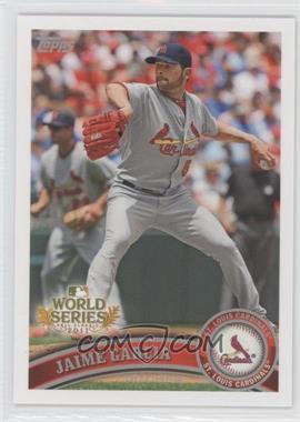 2011 Topps St. Louis Cardinals World Series Champions - Hanger Pack [Base] #WS13 - Jaime Garcia