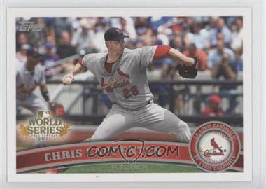2011 Topps St. Louis Cardinals World Series Champions - Hanger Pack [Base] #WS14 - Chris Carpenter