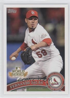2011 Topps St. Louis Cardinals World Series Champions - Hanger Pack [Base] #WS16 - Fernando Salas