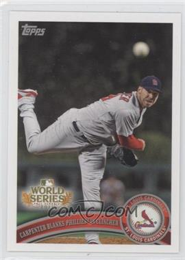 2011 Topps St. Louis Cardinals World Series Champions - Hanger Pack [Base] #WS22 - Chris Carpenter