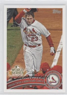 2011 Topps St. Louis Cardinals World Series Champions - Hanger Pack [Base] #WS25 - David Freese
