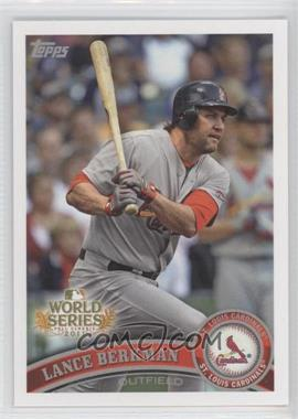 2011 Topps St. Louis Cardinals World Series Champions - Hanger Pack [Base] #WS5 - Lance Berkman