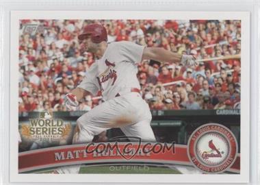 2011 Topps St. Louis Cardinals World Series Champions - Hanger Pack [Base] #WS7 - Matt Holliday