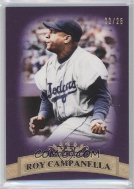 2011 Topps Tier One - [Base] - Purple Tier Two #39 - Roy Campanella /25