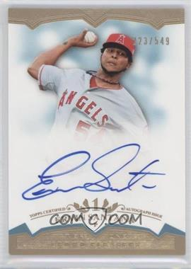 2011 Topps Tier One - Crowd Pleaser Autographs - [Autographed] #CP- ES - Ervin Santana /549