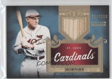 2011 Topps Tier One - Top Shelf Relics - Single Relics #TSR 7 - Rogers Hornsby /399