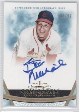 2011 Topps Tier One - Top Tier Autograph - [Autographed] #TT-SM - Stan Musial /99