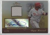 Ryan Howard #/20