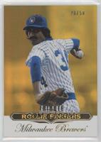 Rollie Fingers [EX to NM] #/50