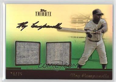 2011 Topps Tribute - Dual Relic - Green #TDR-RC  - Roy Campanella /75