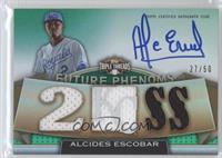 Rookies & Future Phenoms - Alcides Escobar /50