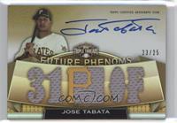 Rookies & Future Phenoms - Jose Tabata /25