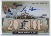 Rookies & Future Phenoms - Logan Morrison /25