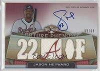Rookies & Future Phenoms - Jason Heyward /99