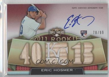 2011 Topps Triple Threads - [Base] #136 - Rookies & Future Phenoms - Eric Hosmer /99