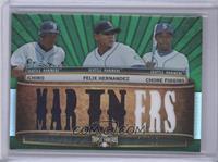 Felix Hernandez, Chone Figgins, Ichiro Suzuki /18