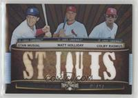 Stan Musial, Matt Holliday, Colby Rasmus /27