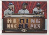 Ichiro Suzuki, Ty Cobb, Robinson Cano #/36