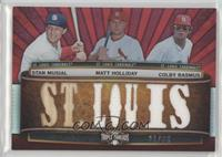 Stan Musial, Matt Holliday, Colby Rasmus /36