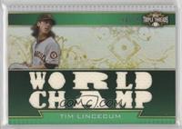 Tim Lincecum /18