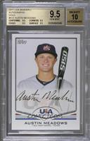 Austin Meadows /25 [BGS 9.5 GEM MINT]