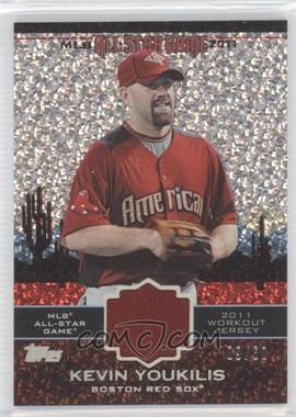 2011 Topps Update Series - All-Star Stitches Relics - Platinum #AS-18 - Kevin Youkilis /60
