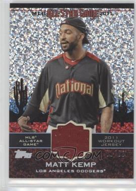 2011 Topps Update Series - All-Star Stitches Relics - Platinum #AS-35 - Matt Kemp /60