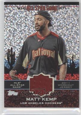 2011 Topps Update Series - All-Star Stitches Relics - Platinum #AS-35 - Matt Kemp /60