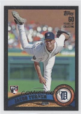 2011 Topps Update Series - [Base] - Black #US174 - Jacob Turner /60