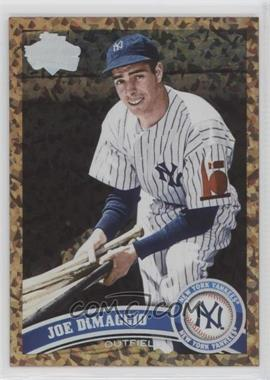 2011 Topps Update Series - [Base] - Cognac Diamond Anniversary #US18.2 - Joe DiMaggio (Legends)