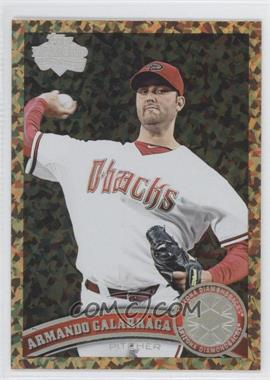 2011 Topps Update Series - [Base] - Cognac Diamond Anniversary #US314 - Armando Galarraga