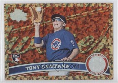 2011 Topps Update Series - [Base] - Cognac Diamond Anniversary #US57 - Tony Campana