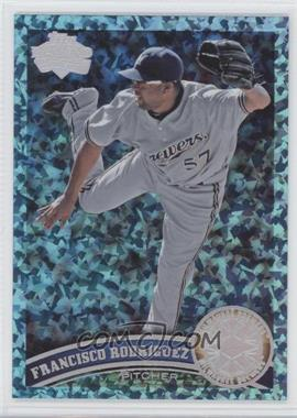 2011 Topps Update Series - [Base] - Hope Diamond Anniversary #US244 - Francisco Rodriguez /60