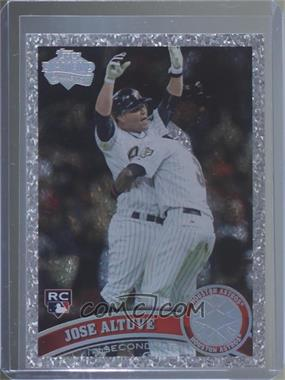 2011 Topps Update Series - [Base] - Platinum Diamond Anniversary #US132 - Jose Altuve