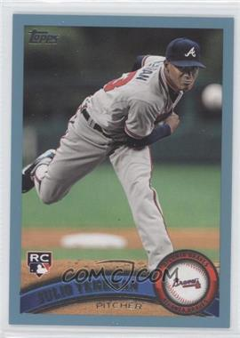 2011 Topps Update Series - [Base] - Wal-Mart Blue #US152 - Julio Teheran