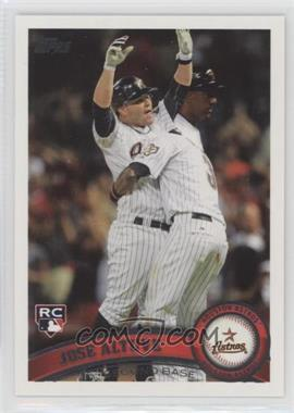 2011 Topps Update Series - [Base] #US132 - Jose Altuve
