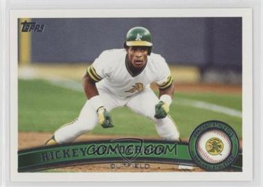 2011 Topps Update Series - [Base] #US59.2 - Rickey Henderson (Legends)